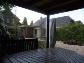 Oprolbaar windscherm Vita Regen- en zon doek
