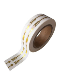 WASHI TAPE - GOLD FOIL ARROW