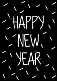 KAART HAPPY NEW YEAR