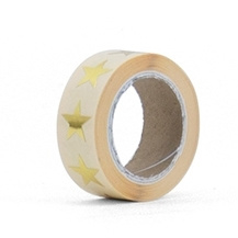 STICKERS  - Ster mini goud