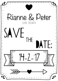 SAVE THE DATE     (CUSTOM MADE)
