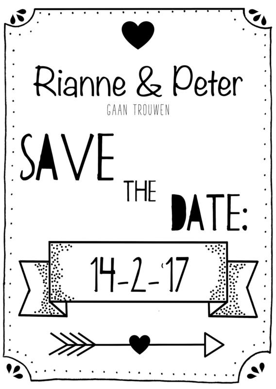 SAVE THE DATE     (CUSTOM MADE)