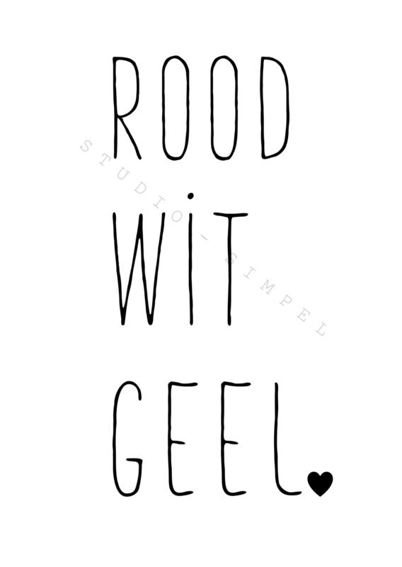 ROOD   WIT   GEEL