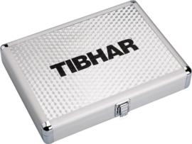 Tibhar Aluminium Bat Case CUBE Silver/blue