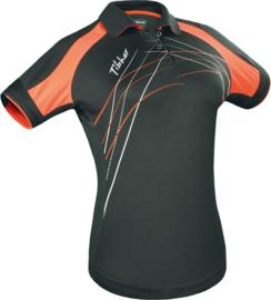 Tibhar Shirt Grip Lady Zwart/Oranje