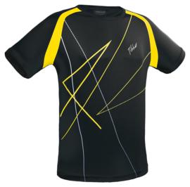 Tibhar T-Shirt Rocket Zwart/Geel