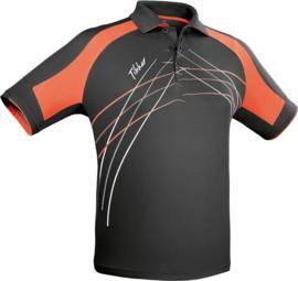 Tibhar Shirt Grip Zwart/Oranje