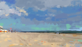Strandzicht