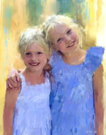 Twee zusjes