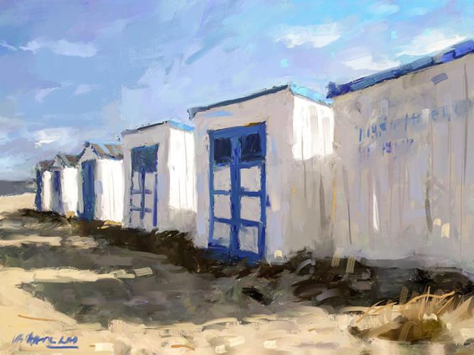 Huisjes strand