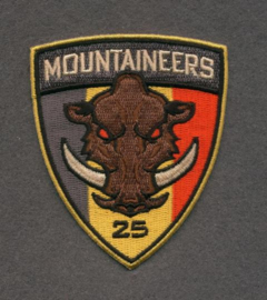 25th Mountaineers Patch Full Color (Members only)