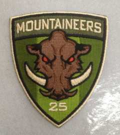 25th Mountaineers Patch OD