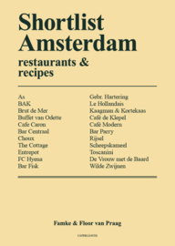 Shortlist Amsterdam – restaurants & recipes (English)