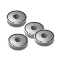 Magneten voor panelen te bevestigen aan plafonds