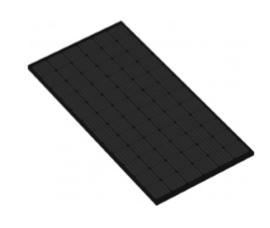 MD 360Wp zwart monokristallijn zonnepaneel