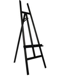 Standaard schildersezel t.b.v. warmte panelen (in de kleur zwart)