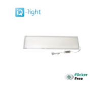 IQ-light - LED paneel - 30x120 cm - 30W - 3000K Warm wit - 3400 Lumen - URG 17 Flikkervrij