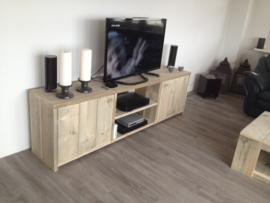 Steigerhouten TV/audio meubel Jazz