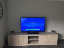 TV/audio meubel van steigerhout