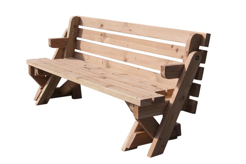 Douglas bank en tafel 2 in 1 Model XL