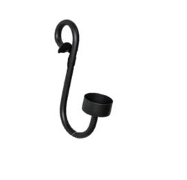 T-light holder small black