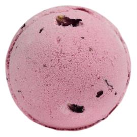 Bruisbal Roos- met rozenblaadjes