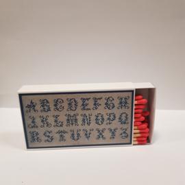 Luciferdoos alfabet