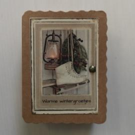 Soap in a box || Warme wintergroetjes