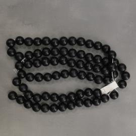 Houten deco kralen zwart