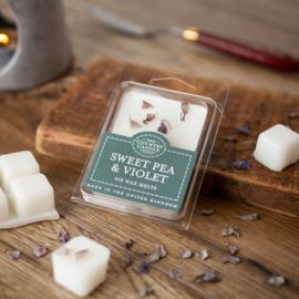 Sweet pea en Violet waxmelts