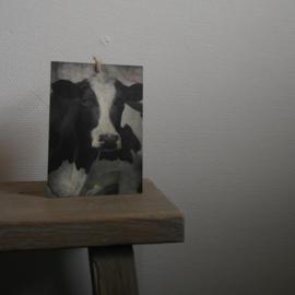Deco bordje koe || met ophanglus