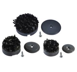 Voor vierkante en ronde poten (hout en kunststof)
