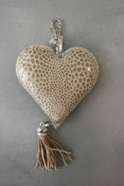 Sleutelhanger hart cobra