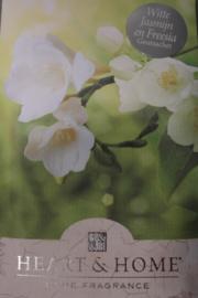 Witte jasmijn en freesia