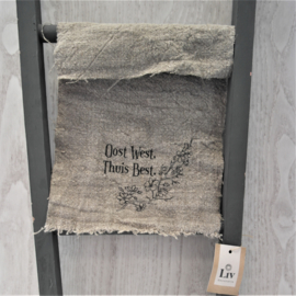 Shabby doek | Oost west, thuis best