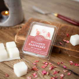 Sugared raspberry waxmelts