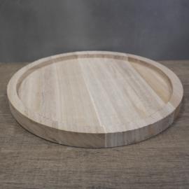 Houten plateau 30 cm