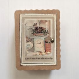 Soap in a box || Een klein kerstkadootje
