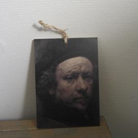 Decobordje rembrandt || met ophanglus || A5