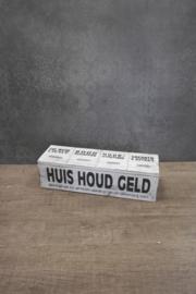 Huishoudgeldbox 29 cm