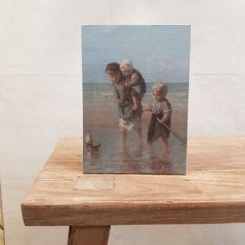 Prent kinderen van de zee A5