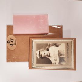 Zeep in doosje met envelop || kadootje voor mijn juf