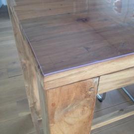 tafelbeschermer transparant 70 cm breed