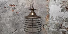 lage lamp industrieel met glasplaat