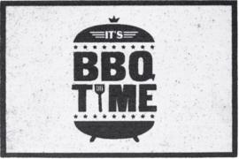 It's BBQ- time - mat voor bij de BBQ