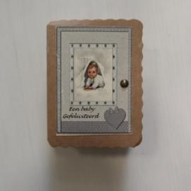 Soap in a box || een baby gefeliciteerd!