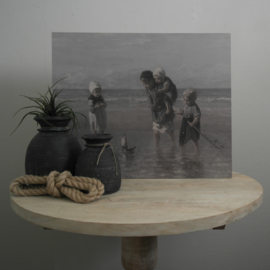 Schilderspaneel kinderen van de zee