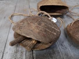 Indo houten koebel