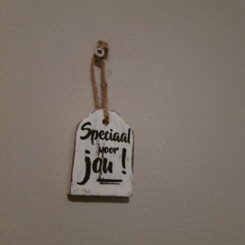 Hanger label mini speciaal voor jou