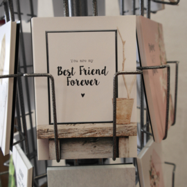 Postkaart you are my best friend forever